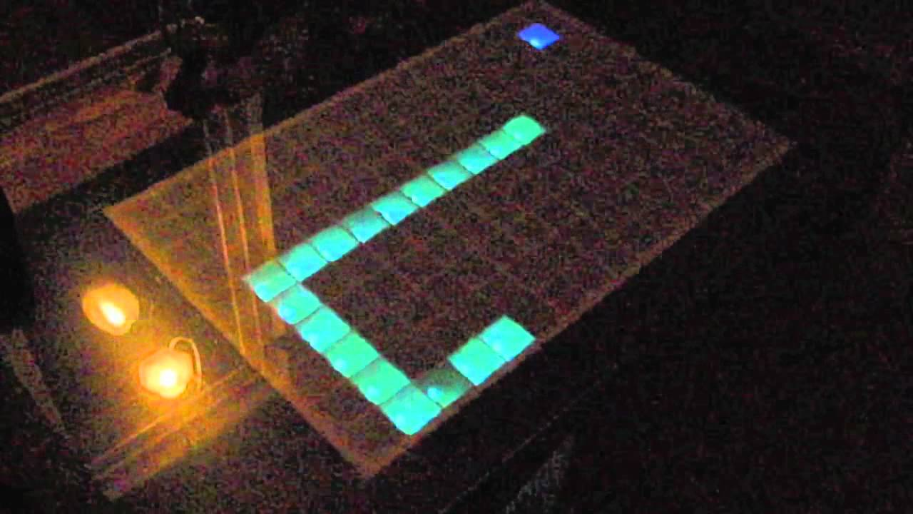 Home Tetris Coffee Table Table Made With Arduino Shocking Science