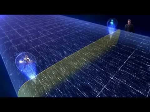 Are space and time one continuum shocking science for Fabric of space time explained